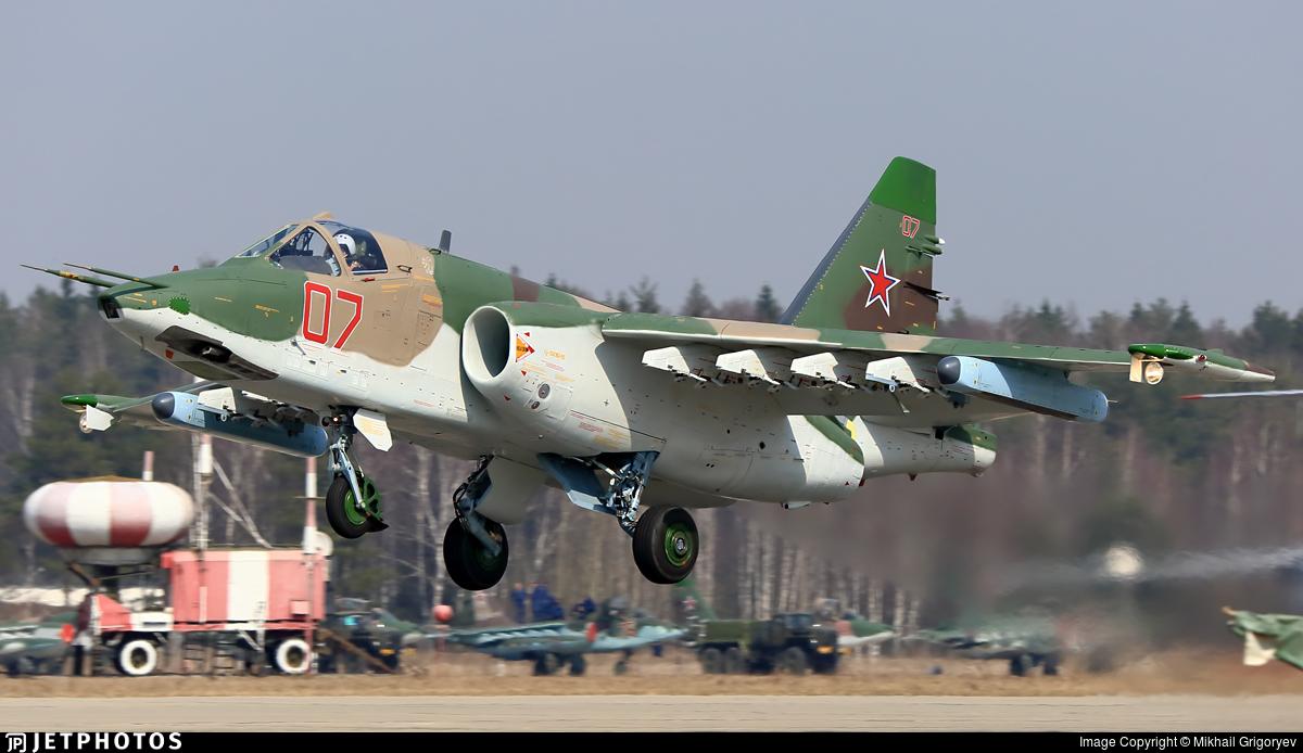 RF-93021 - Sukhoi Su-25SM Frogfoot - Russia - Air Force