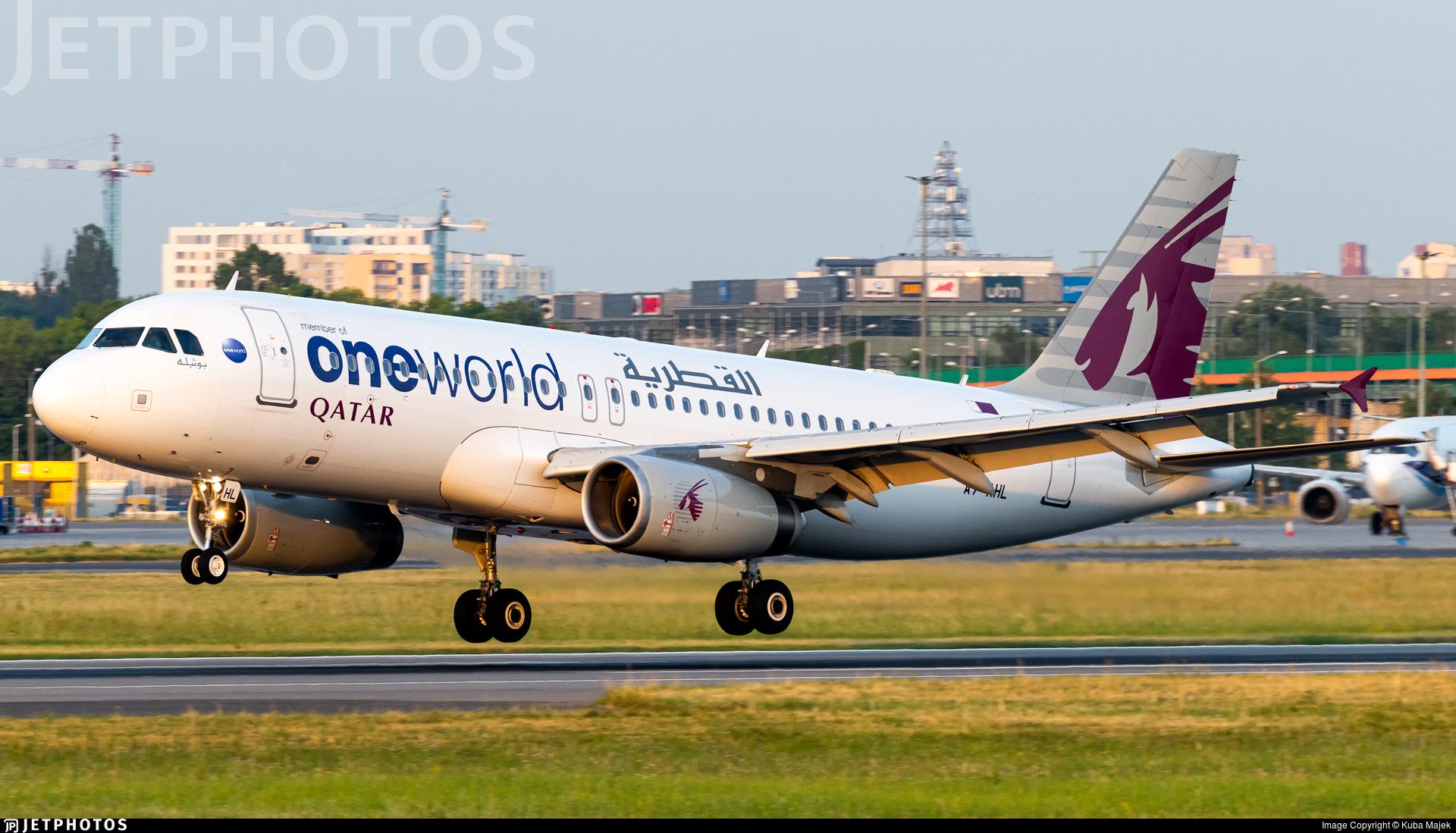 A7-AHL - Airbus A320-232 - Qatar Airways