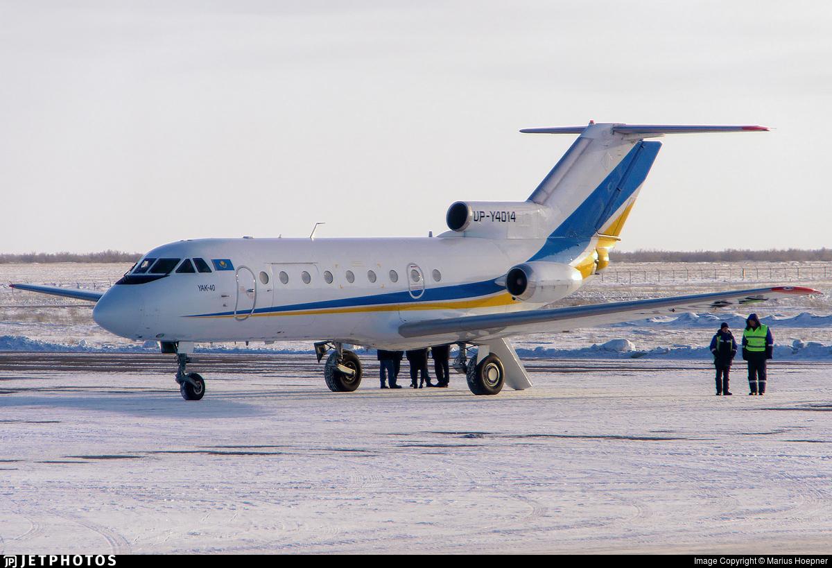 UP-Y4014 - Yakovlev Yak-40K - Zhezkazgan Air
