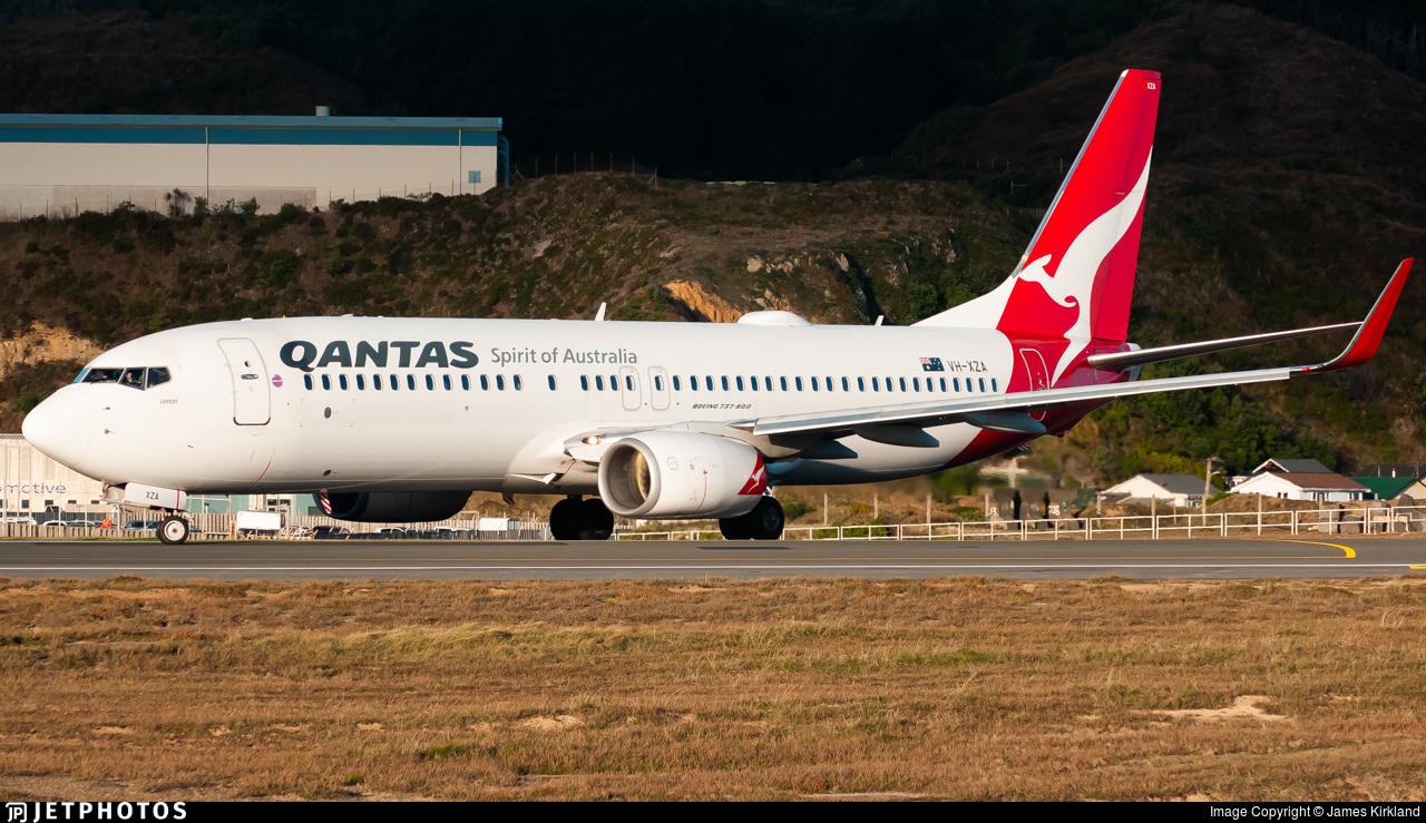 VH-XZA - Boeing 737-838 - Qantas