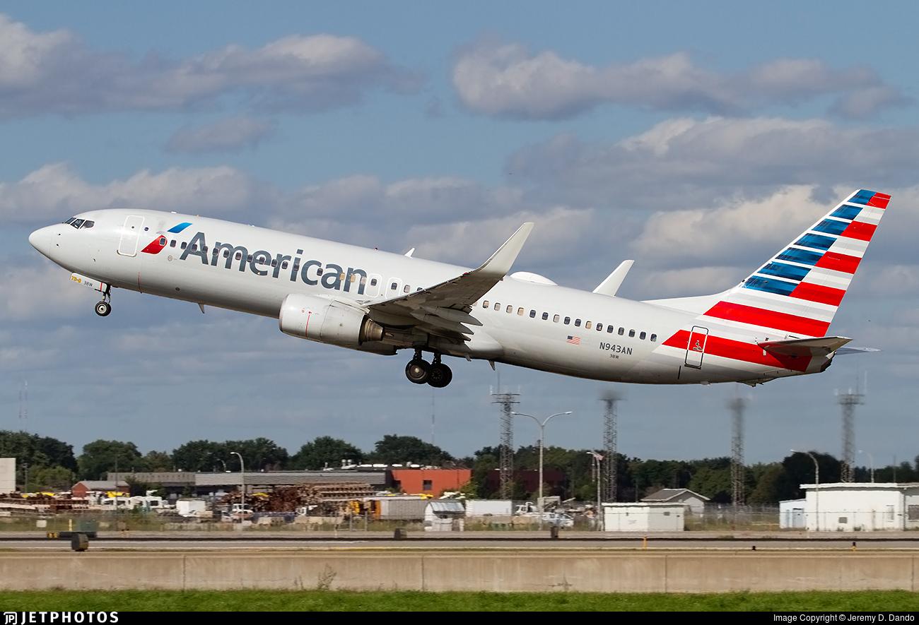 N943AN - Boeing 737-823 - American Airlines