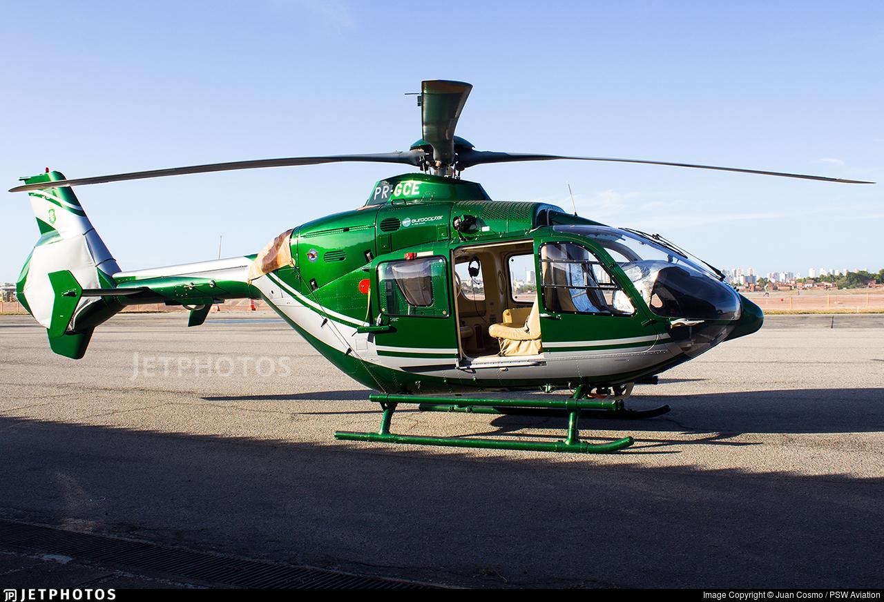 PR-GCE - Eurocopter EC 135T2+ - Private