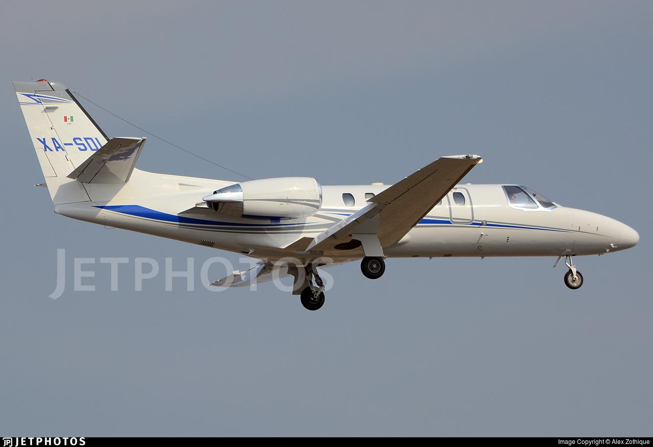 XA-SDI - Cessna 550B Citation Bravo - Private