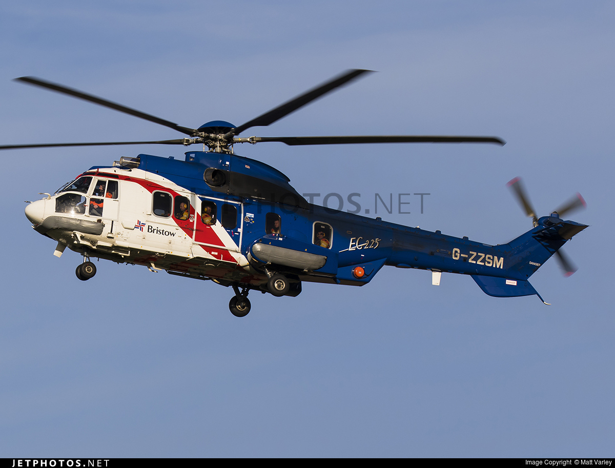 G-ZZSM - Eurocopter EC 225LP Super Puma II+ - Bristow Helicopters