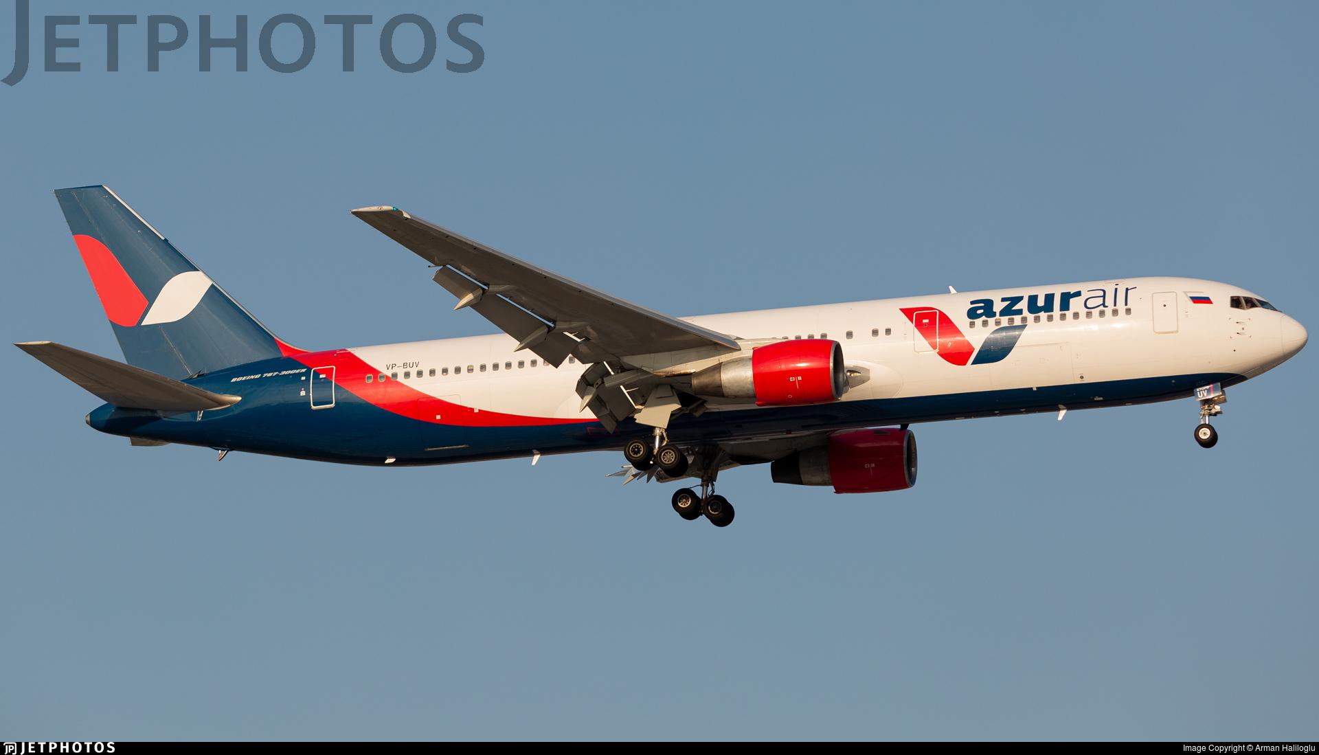 VP-BUV - Boeing 767-3Q8(ER) - Azur Air