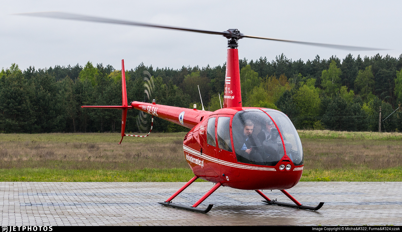 SP-SAL - Robinson R44 Raven II - Private