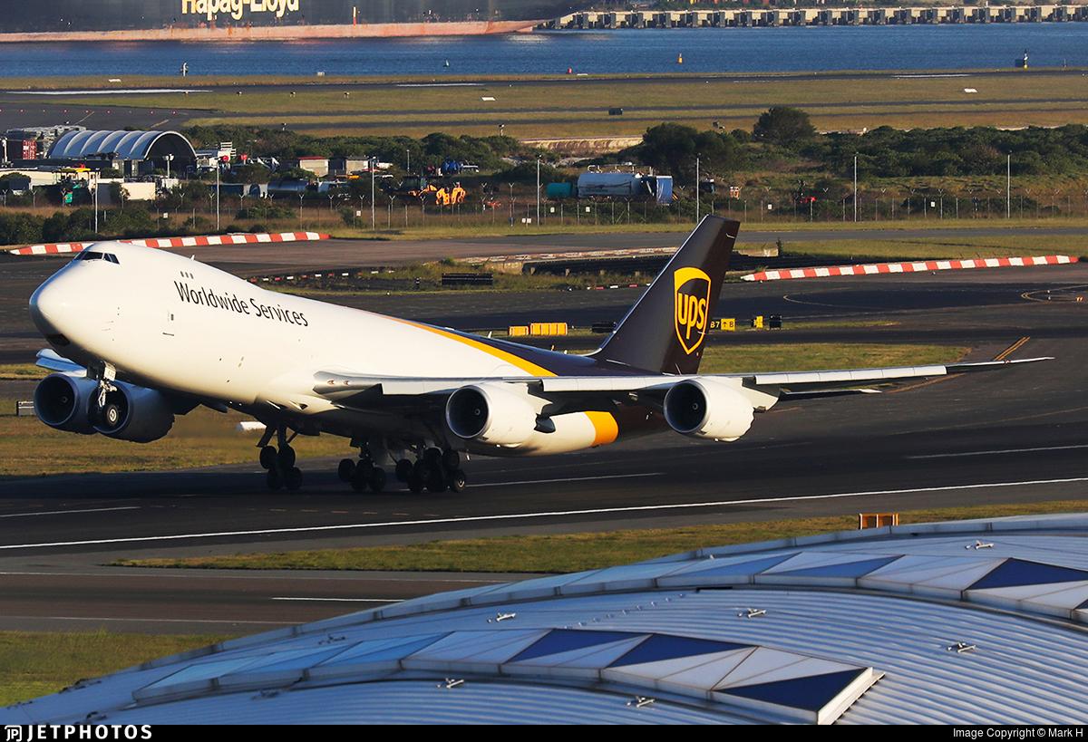 N622UP - Boeing 747-84AF - United Parcel Service (UPS)