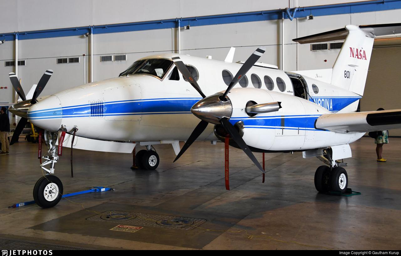 N801NA - Beechcraft 200 Super King Air - United States - National Aeronautics and Space Administration (NASA)