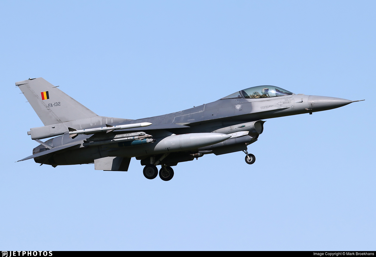 FA-132 - General Dynamics F-16AM Fighting Falcon - Belgium - Air Force