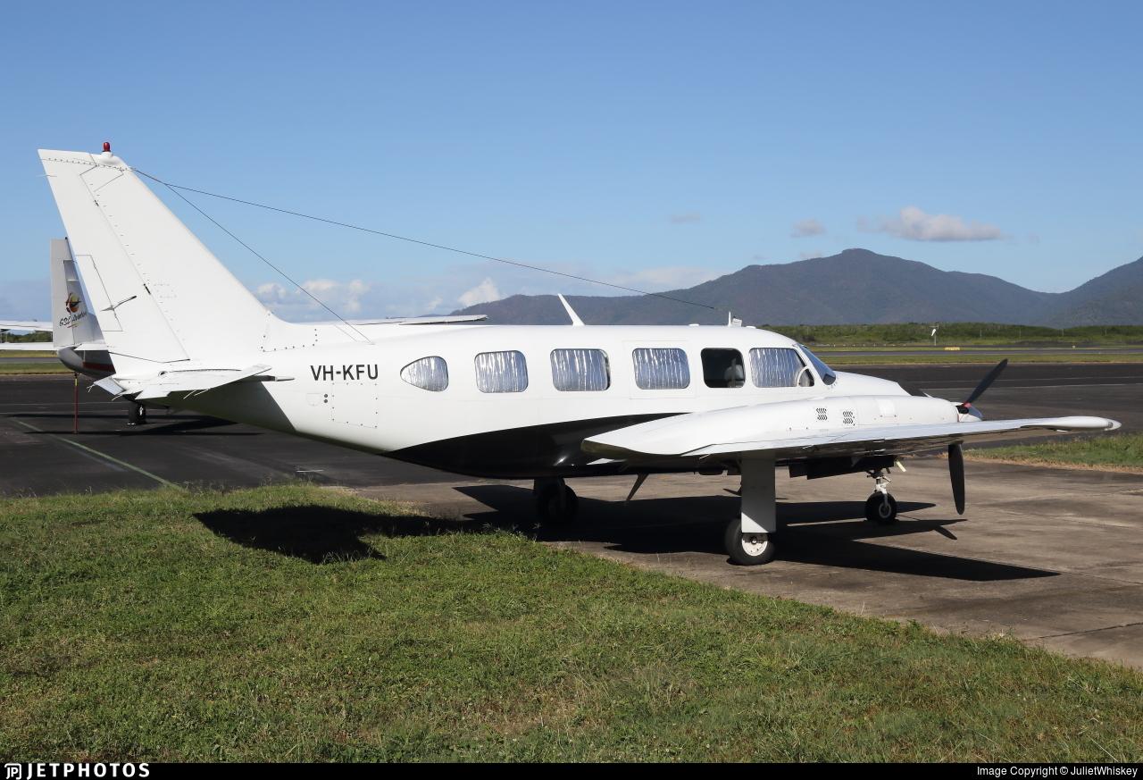 VH-KFU - Piper PA-31-350 Navajo Chieftain - GSL Aviation