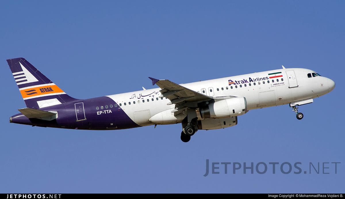 EP-TTA - Airbus A320-231 - Atrak Air