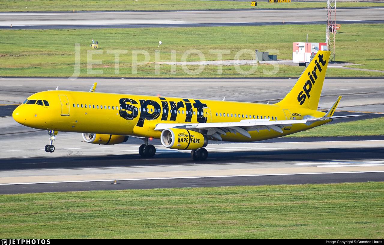 N657NK - Airbus A321-231 - Spirit Airlines