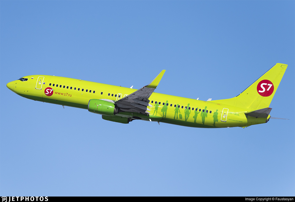 VP-BUL - Boeing 737-8LP - S7 Airlines