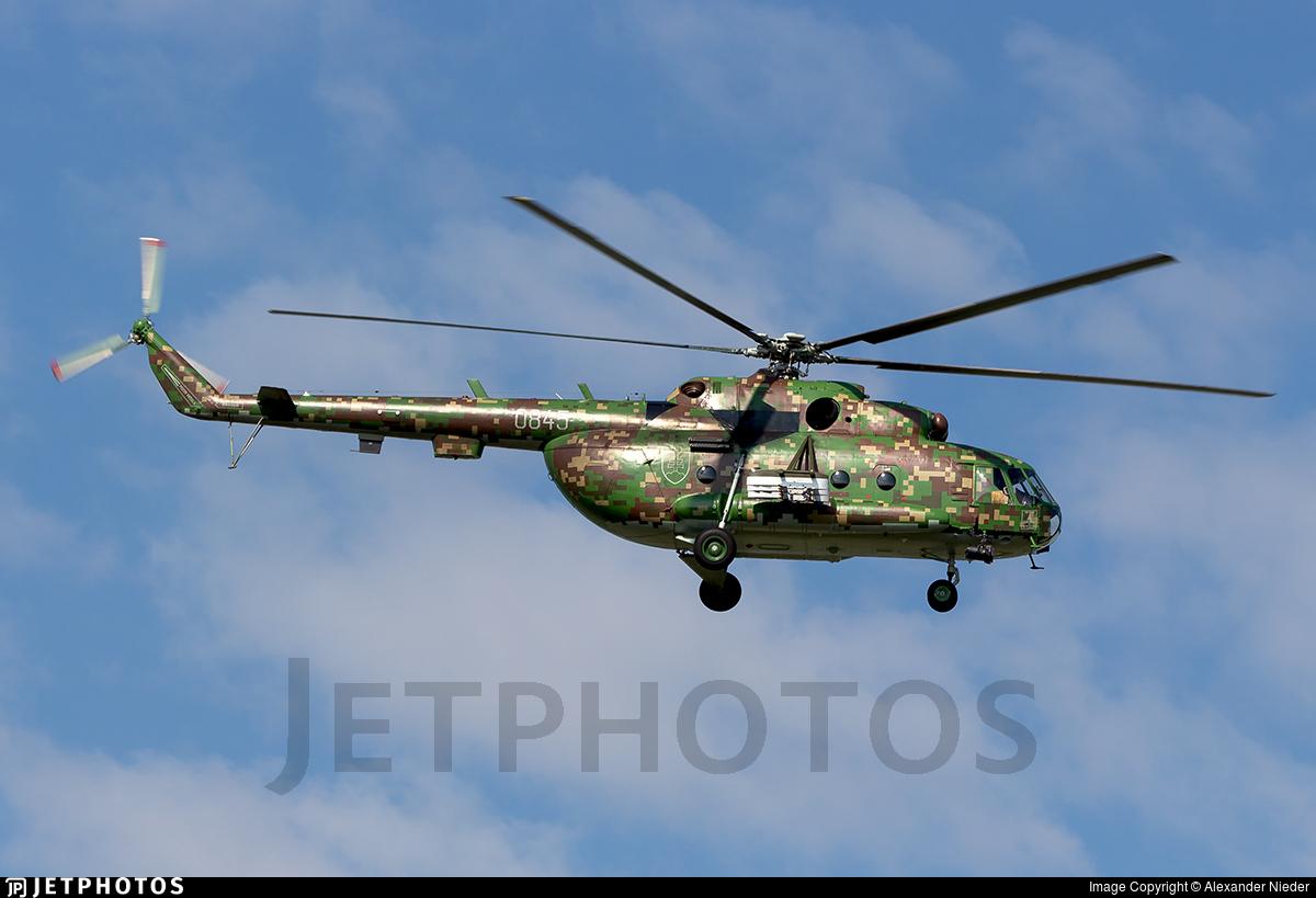 0845 - Mil Mi-17 Hip - Slovakia - Air Force