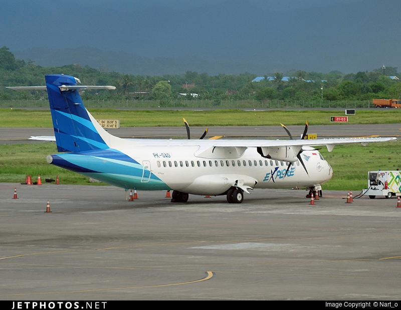 PK-GAD - ATR 72-212A(600) - Garuda Indonesia Explore