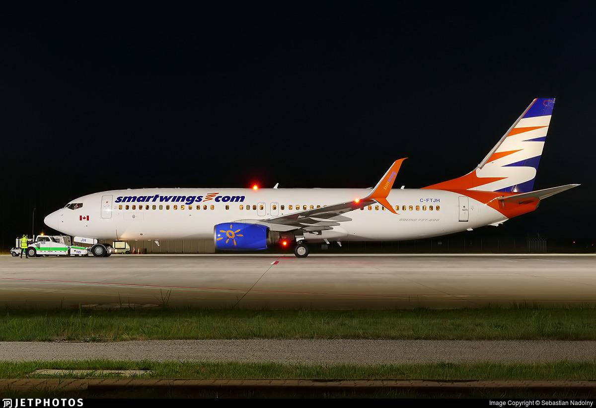 C-FTJH - Boeing 737-8BK - SmartWings (Sunwing Airlines)