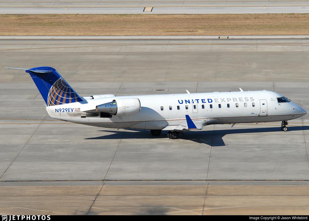N929EV - Bombardier CRJ-200LR - United Express (SkyWest Airlines)