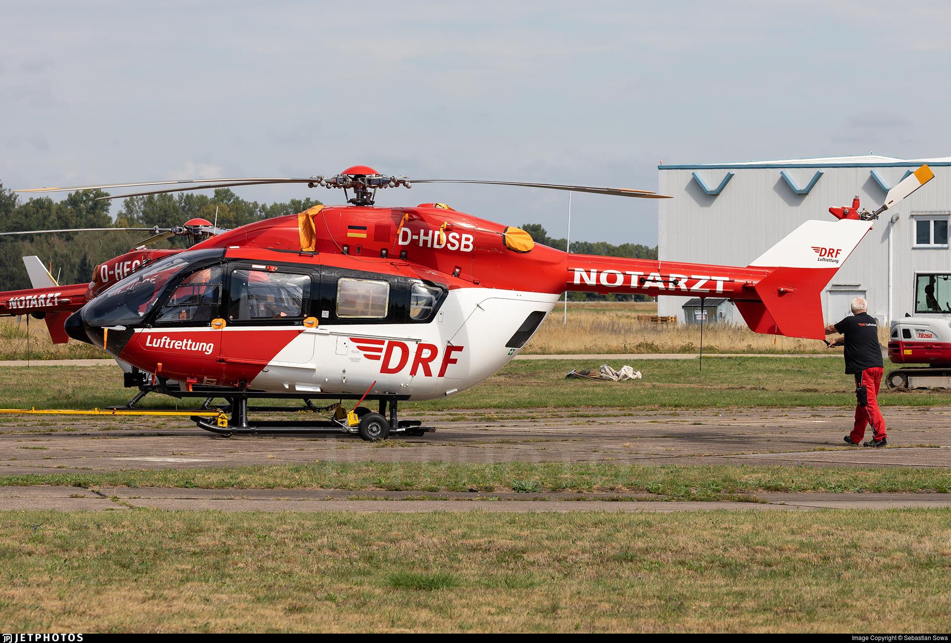 D-HDSB - Eurocopter EC 145 - DRF Luftrettung
