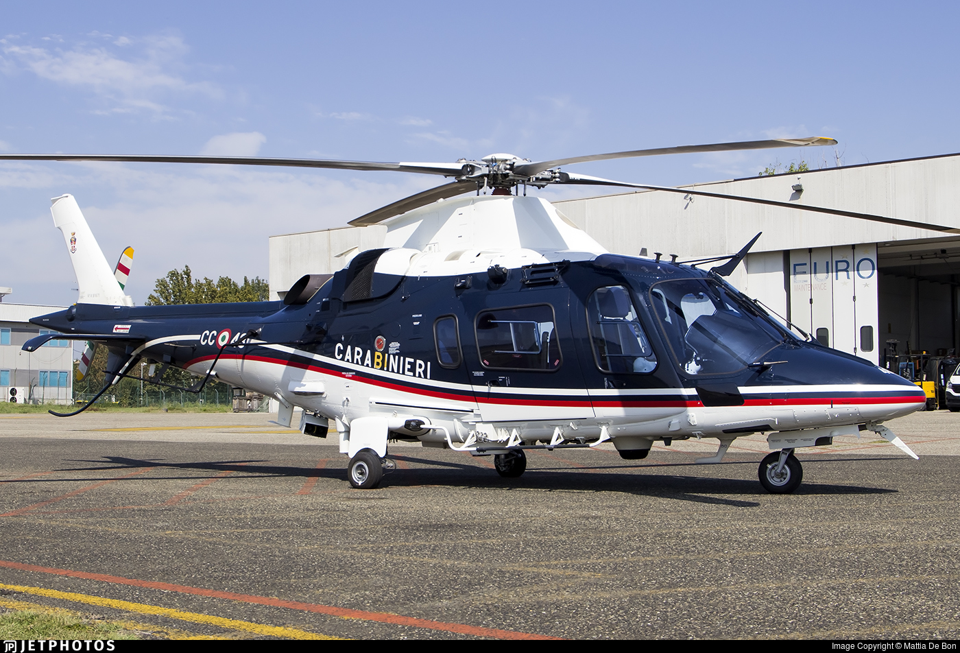 MM81671 - Agusta-Westland AW-109N Nexus - Italy - Arma dei Carabinieri