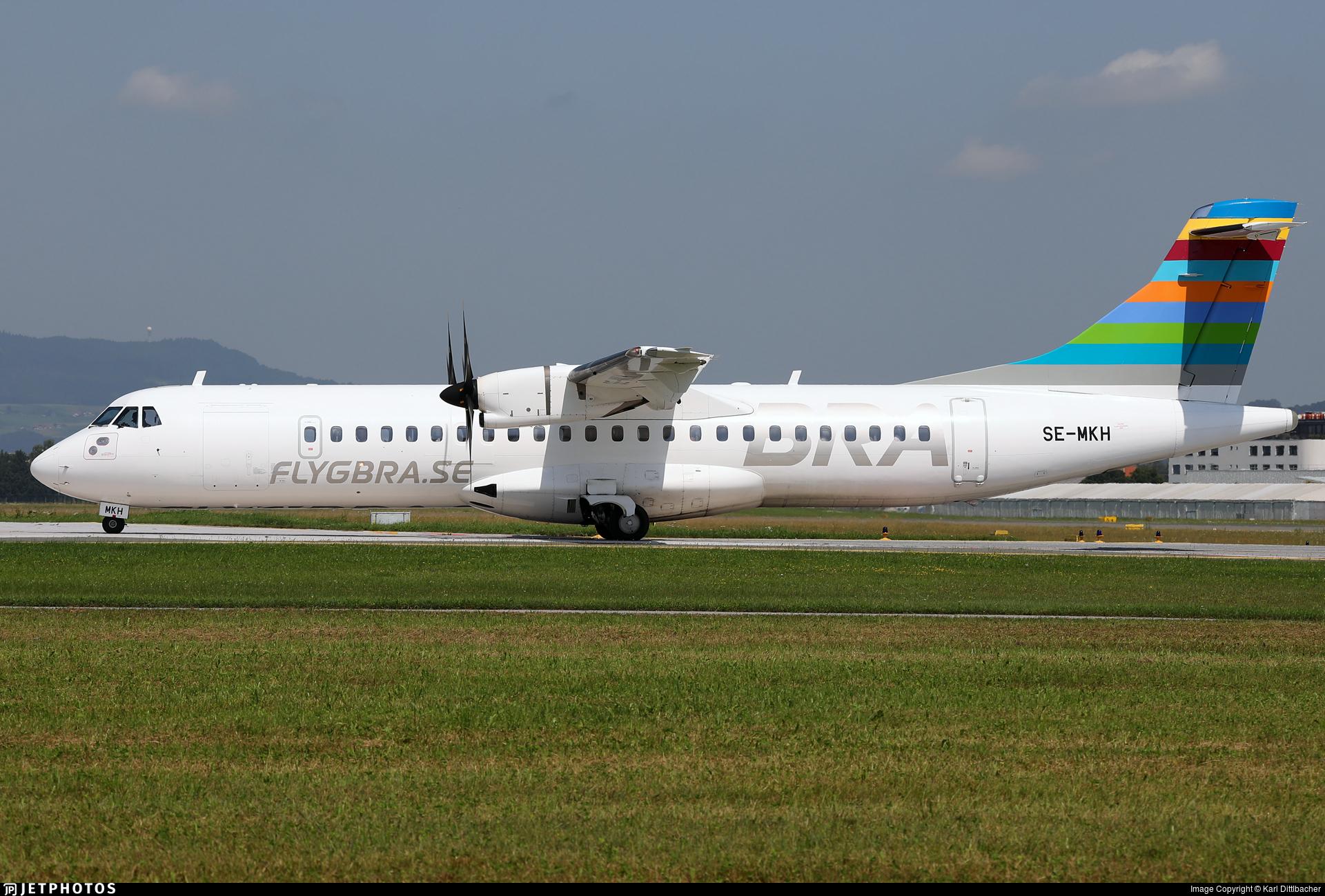 SE-MKH - ATR 72-212A(600) - Braathens Regional