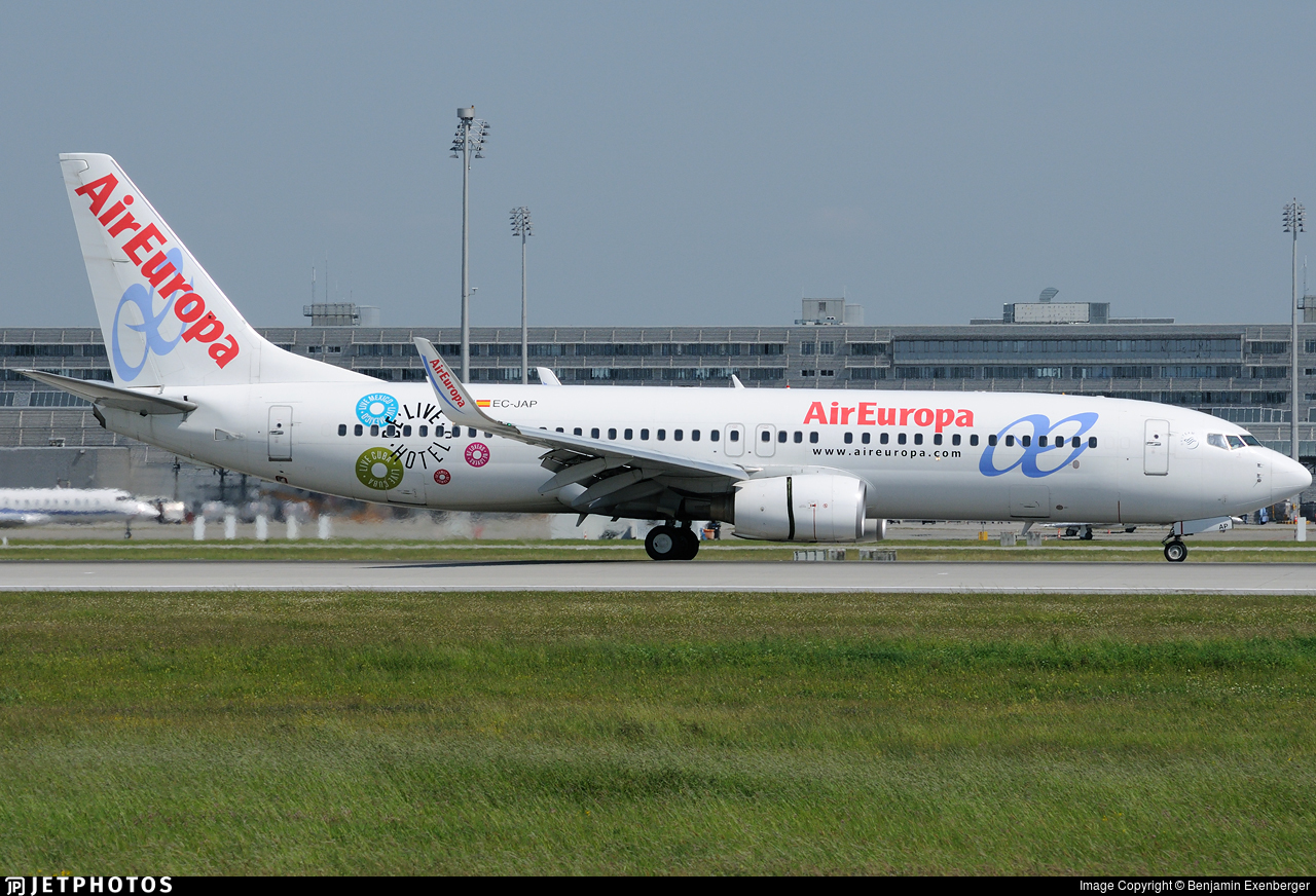EC-JAP - Boeing 737-85P - Air Europa