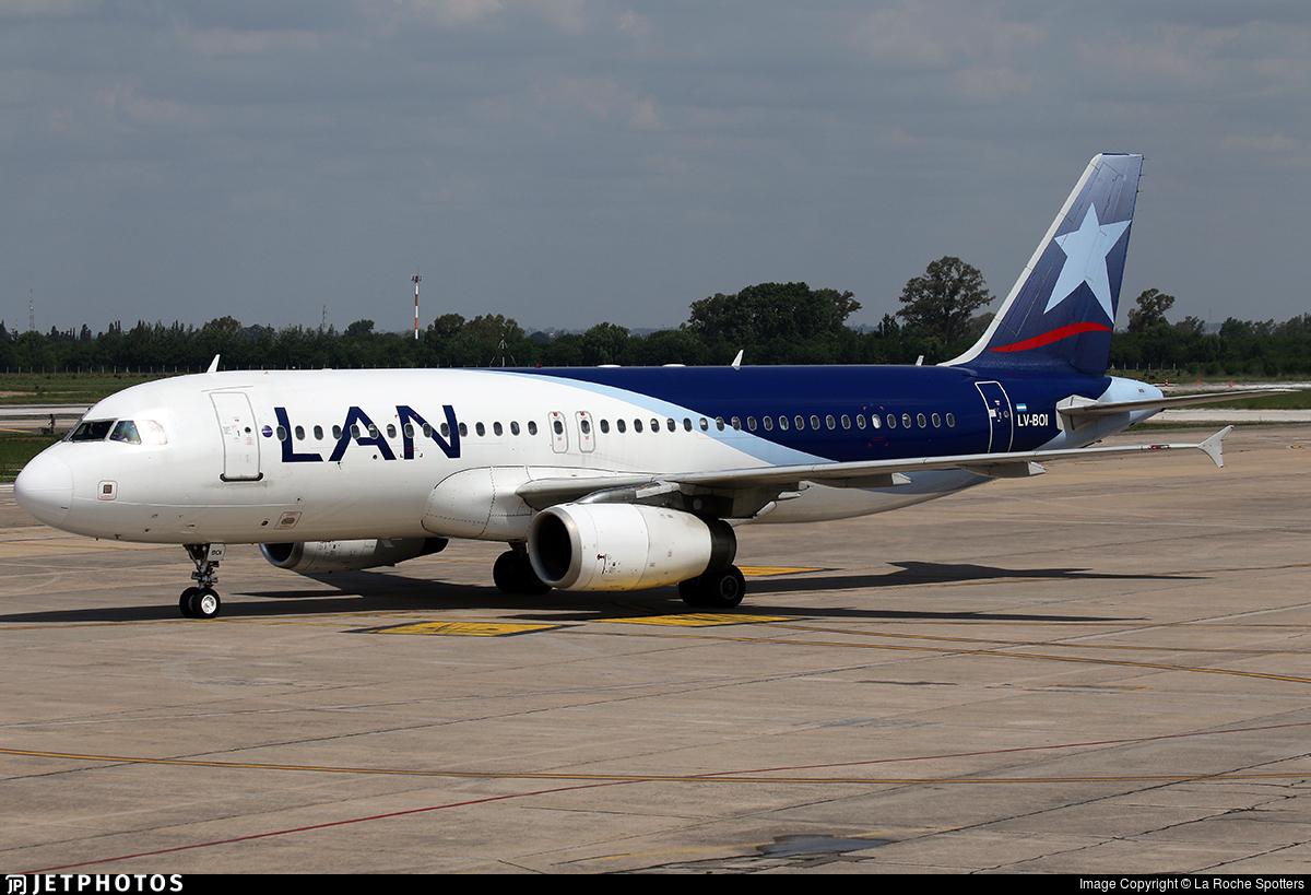 LV-BOI - Airbus A320-233 - LAN Argentina