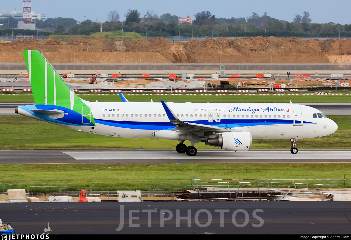 9N-ALM - Airbus A320-214 - Himalaya Airlines