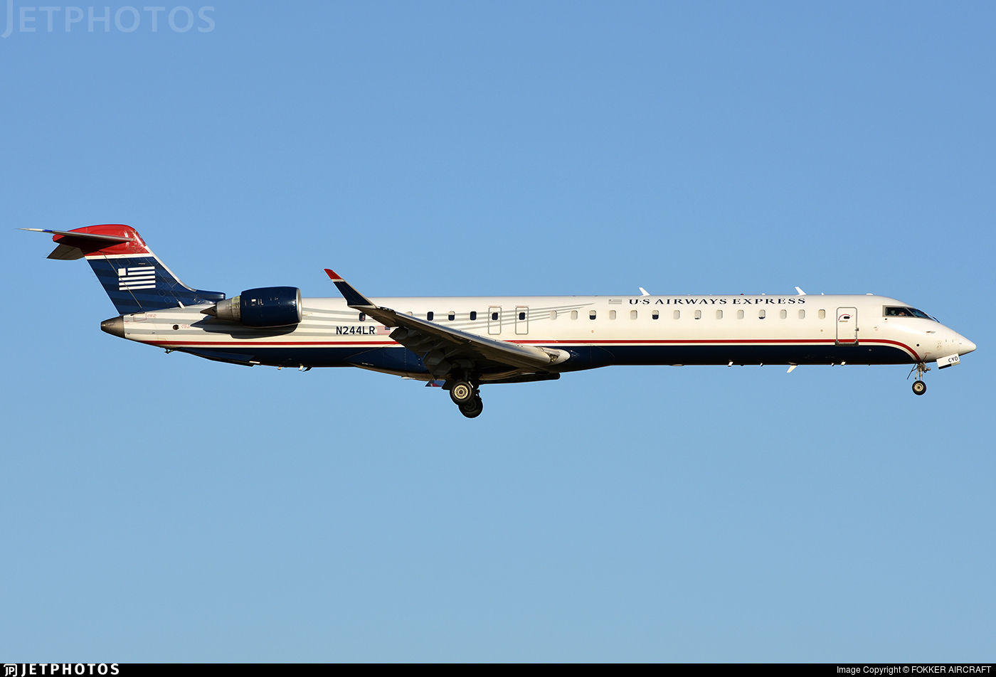 Us Airways Express Crj 200 New Colors 1 100 Skymarks Airliners Models Skr206 At Castairplane