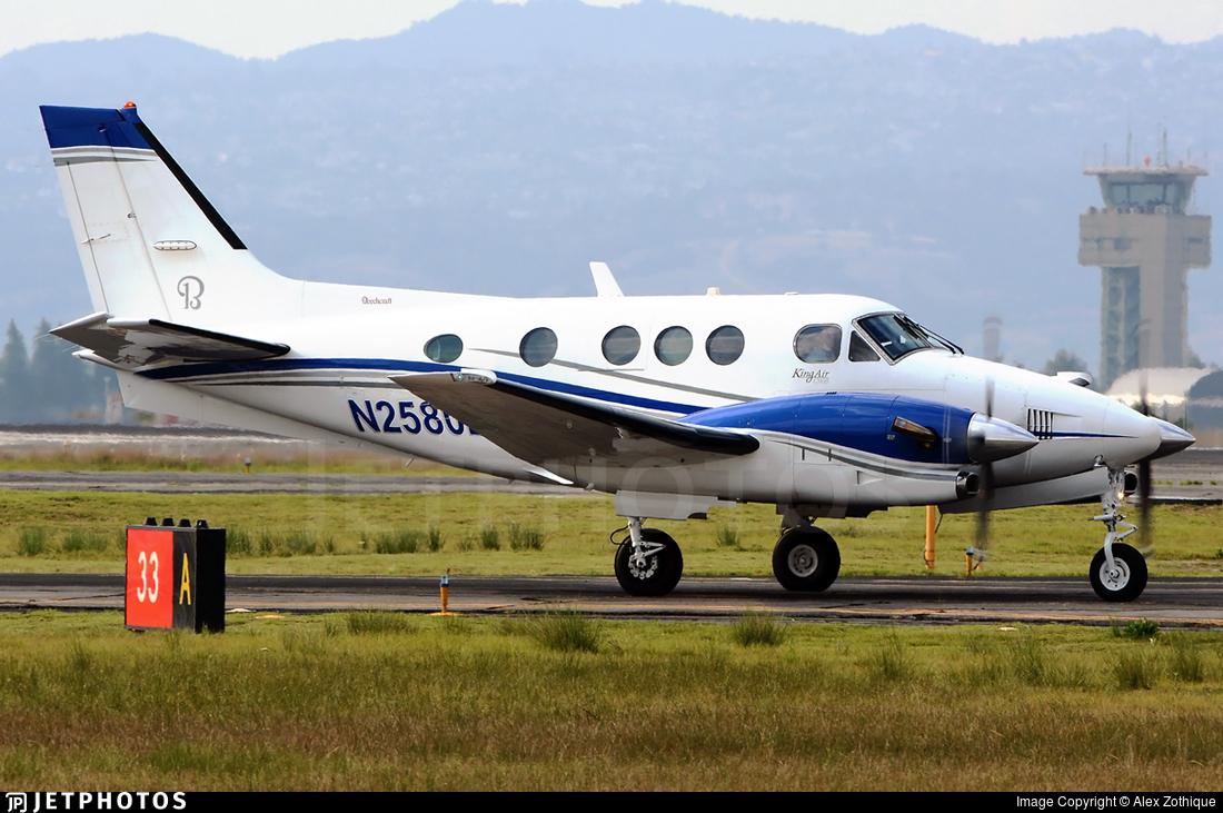 N2580E - Beechcraft C90A King Air - Private