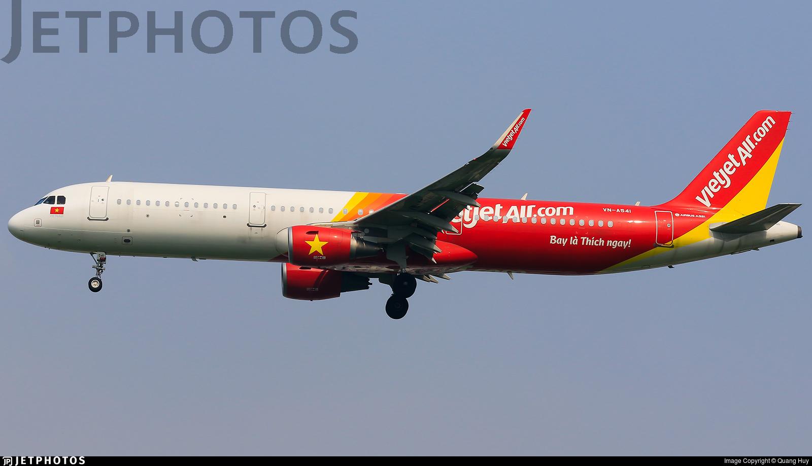 VN-A541 - Airbus A321-211 - VietJet Air