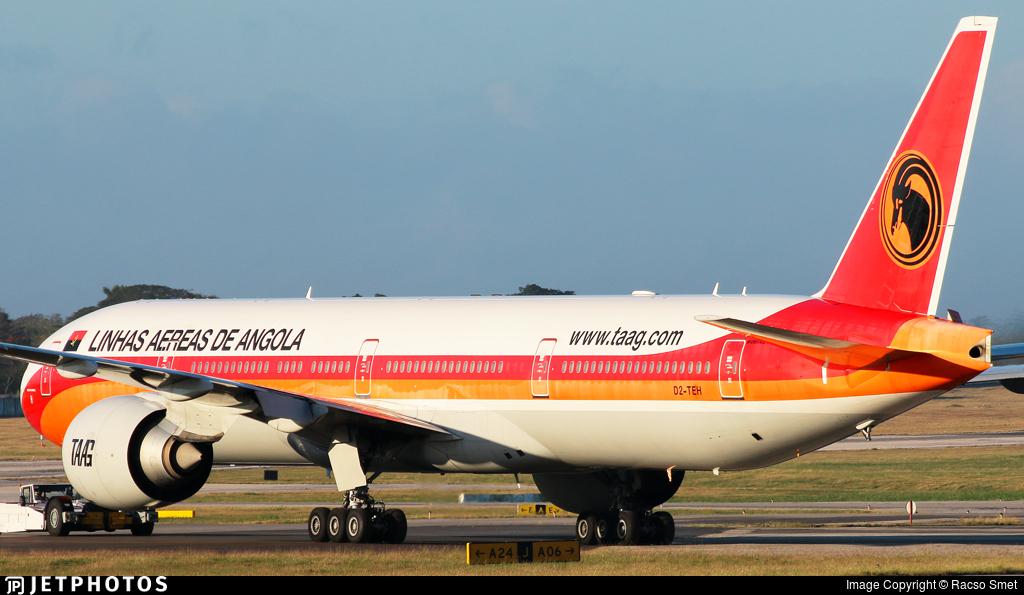 D2-TEH - Boeing 777-3M2ER - TAAG Linhas Aéreas de Angola