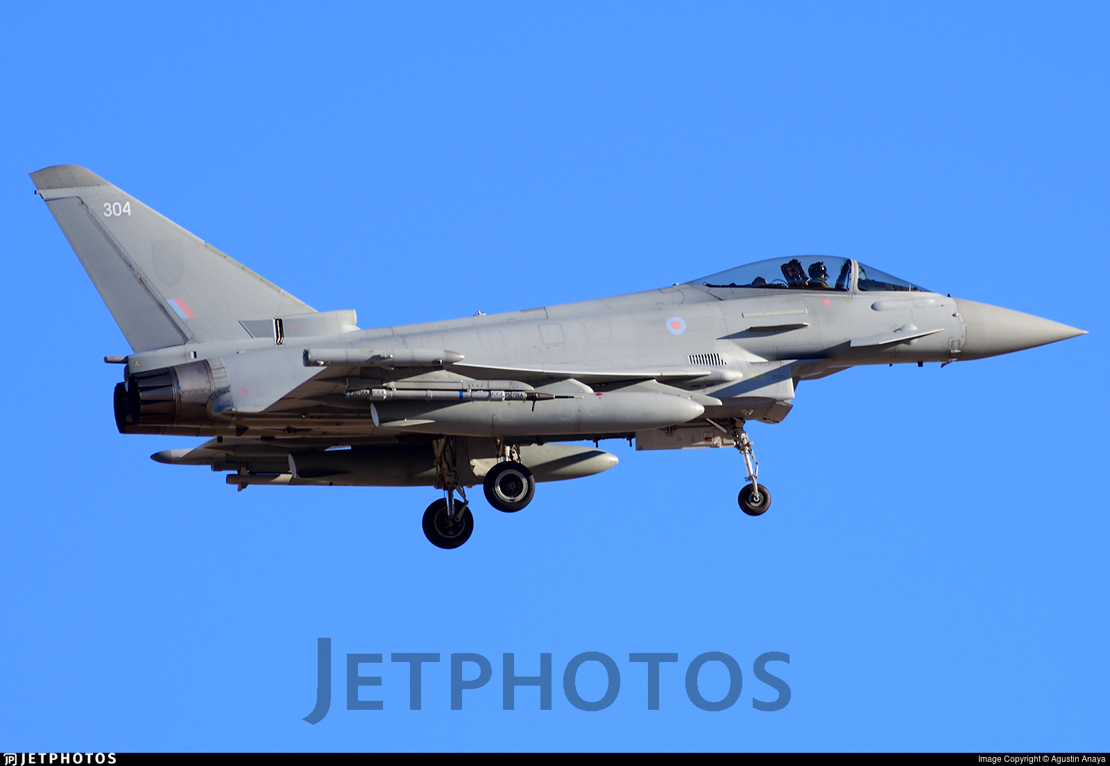 ZK304 - Eurofighter Typhoon FGR.4 - United Kingdom - Royal Air Force (RAF)