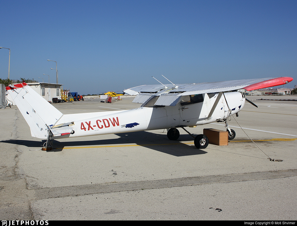 4X-CDW - Cessna 152 - MoonAir
