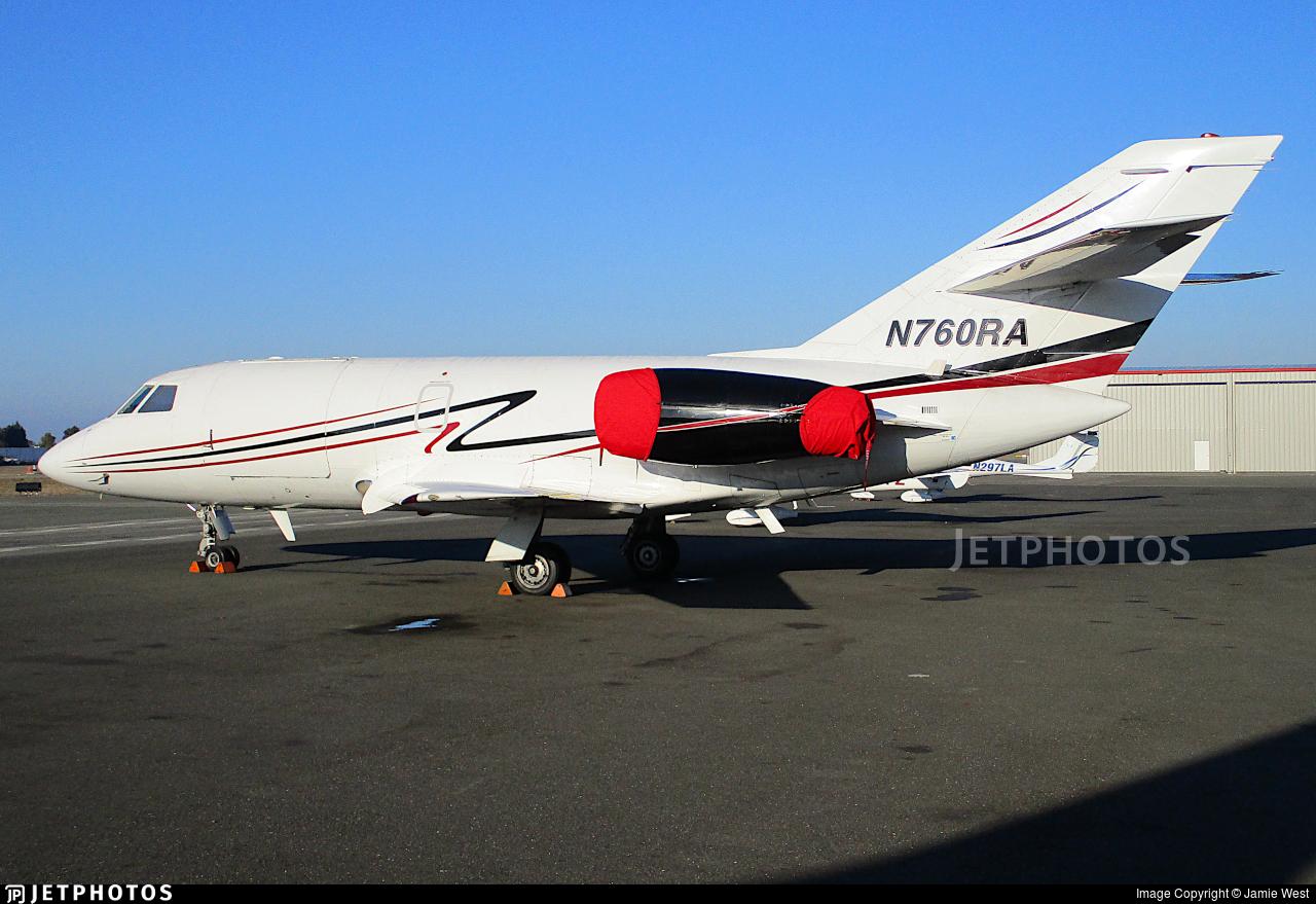 N760RA  - Dassault Falcon 20 - Royal Air Freight