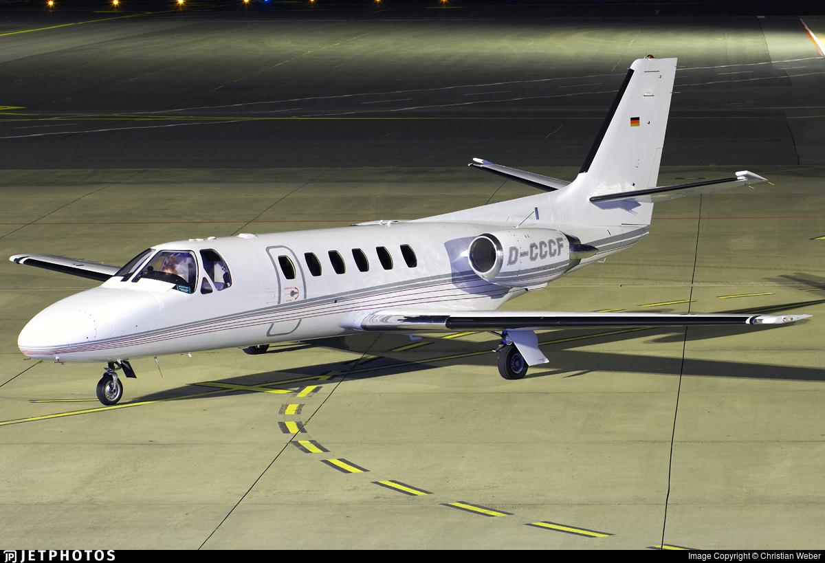D-CCCF - Cessna 550 Citation II - Heli-Flight