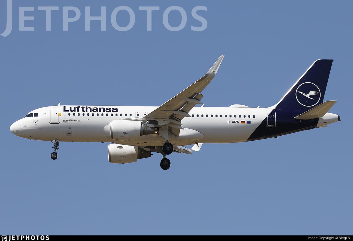 D-AIZW - Airbus A320-214 - Lufthansa