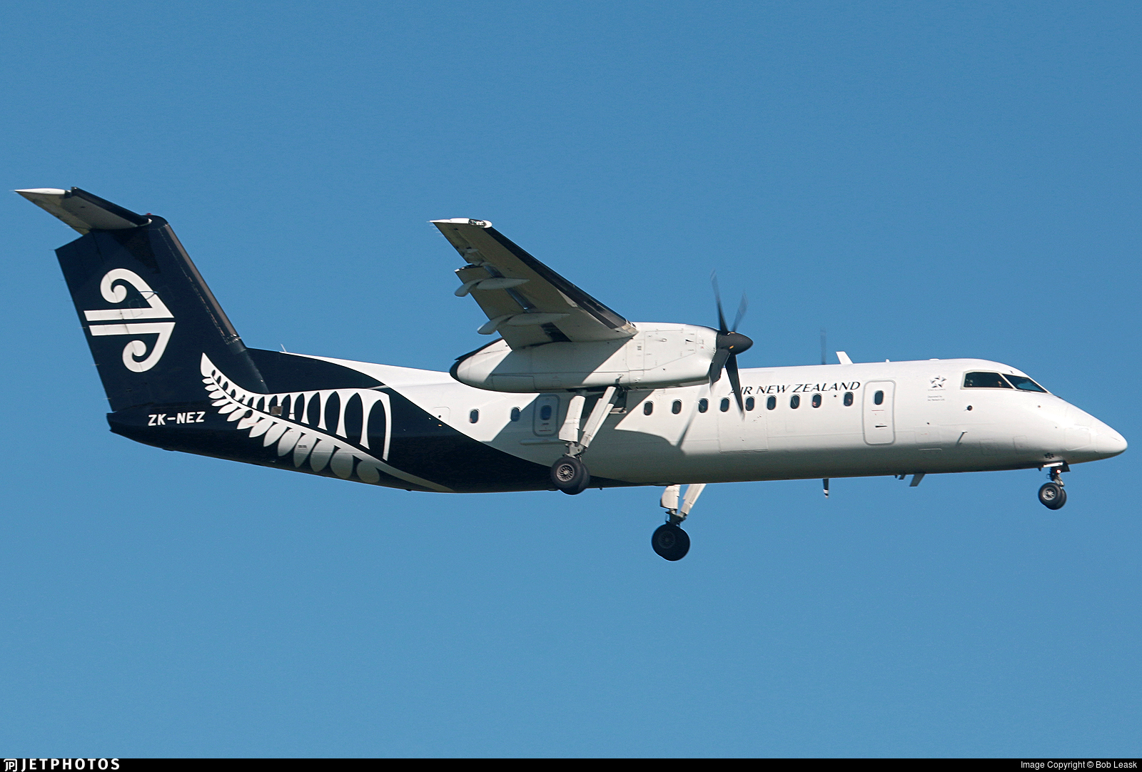 ZK-NEZ - Bombardier Dash 8-Q311 - Air New Zealand Link (Air Nelson)