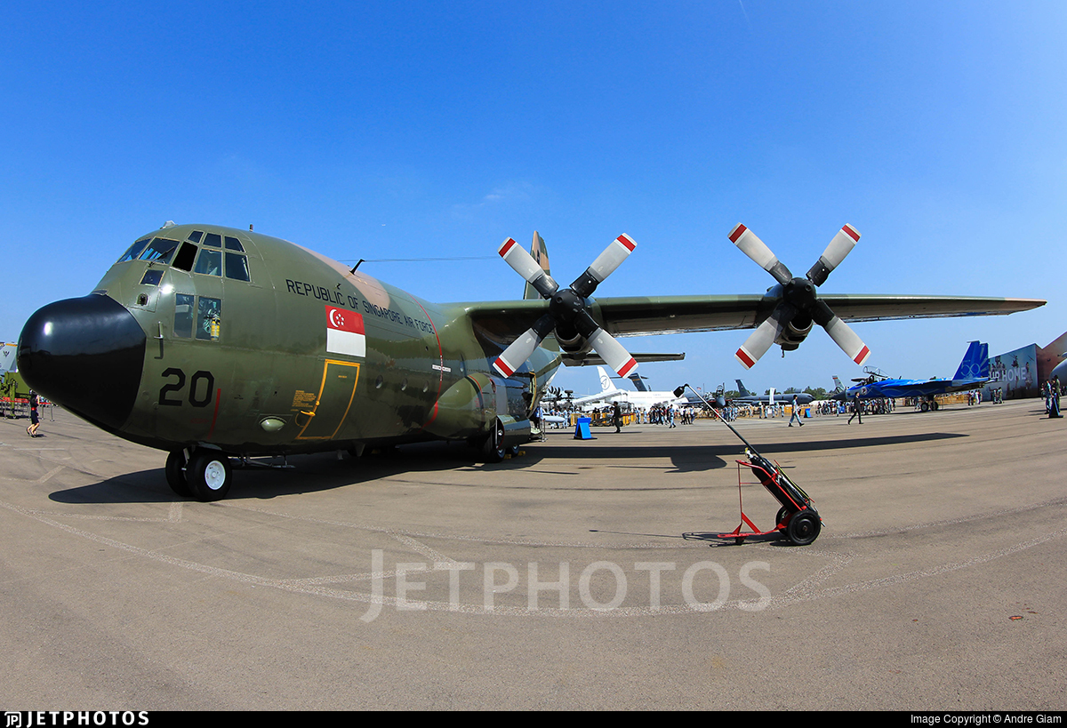 720 - Lockheed C-130B Hercules - Singapore - Air Force