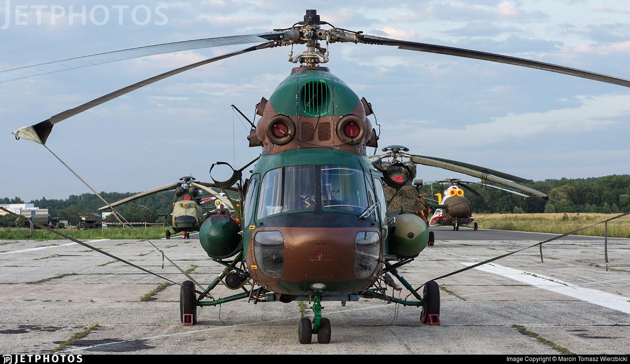 6003 - PZL-Swidnik Mi-2Ch Hoplite - Poland - Army