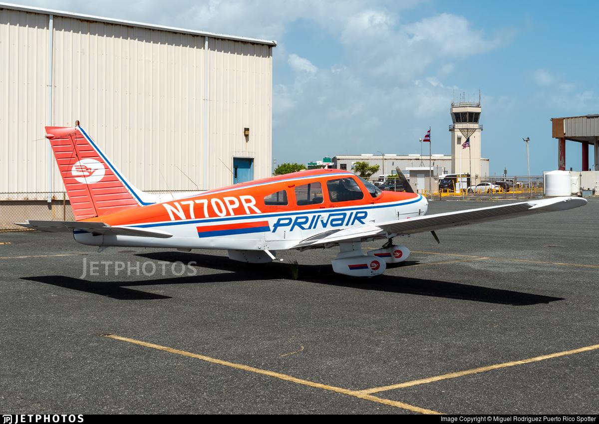 N770PR - Piper PA-28-161 Cherokee Warrior II - Prinair