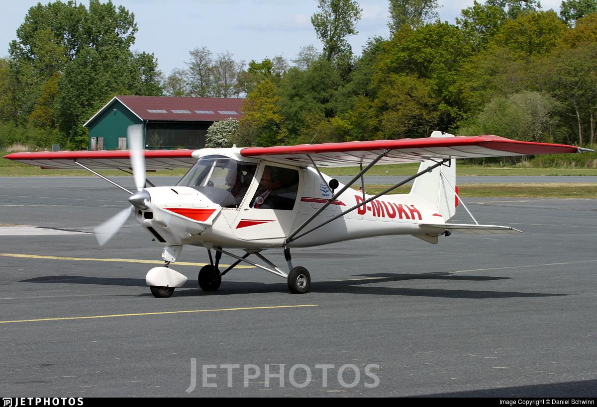 D-MUKH - Ikarus C-42 - Private