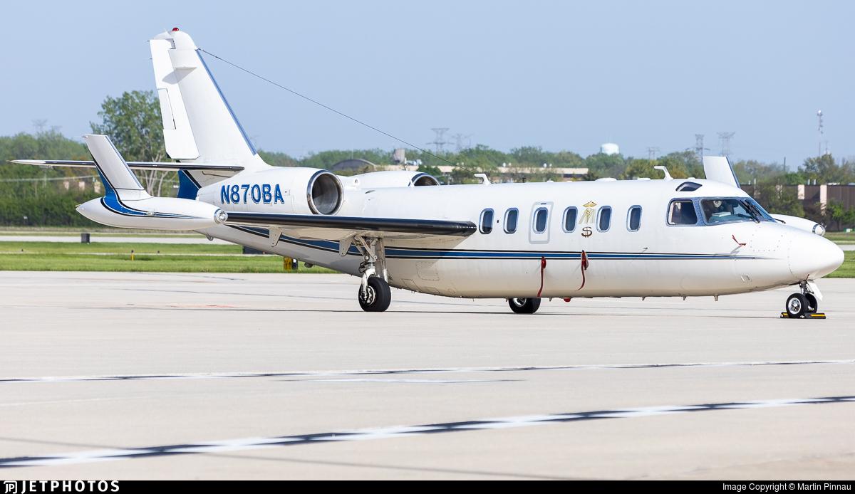 N870BA - IAI 1124A Westwind II - Private