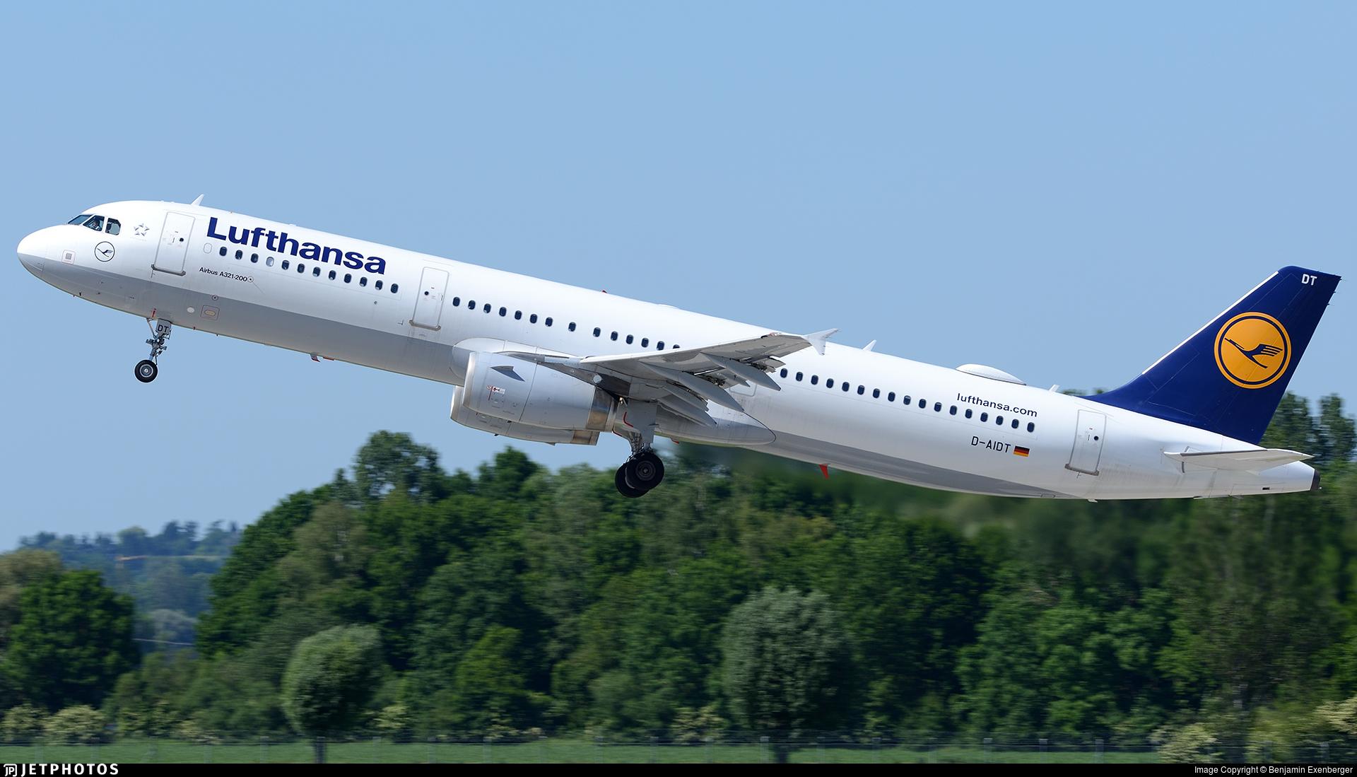 D-AIDT - Airbus A321-231 - Lufthansa