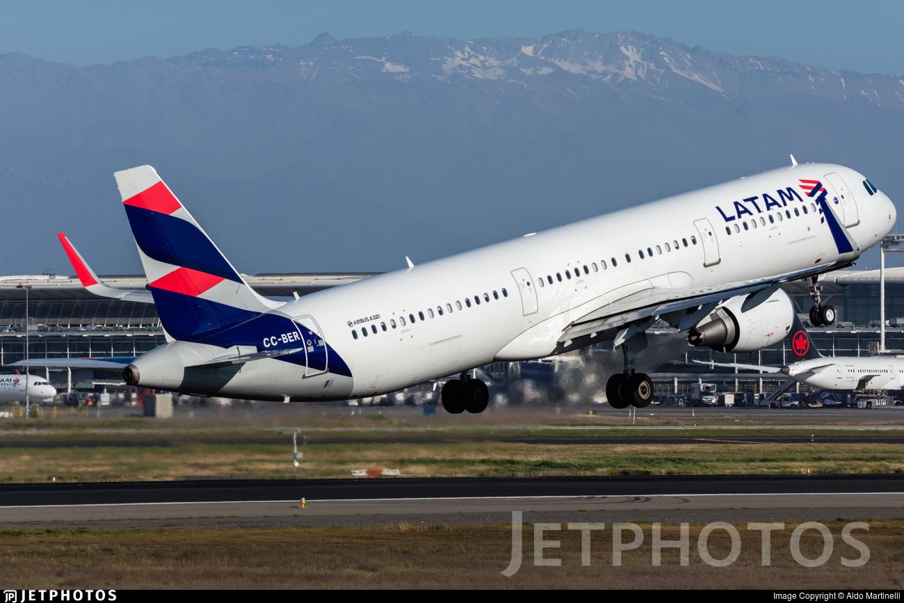 CC-BER - Airbus A321-211 - LATAM Airlines