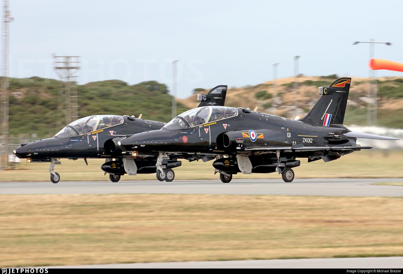 ZK012 - British Aerospace Hawk T.2 - United Kingdom - Royal Air Force (RAF)