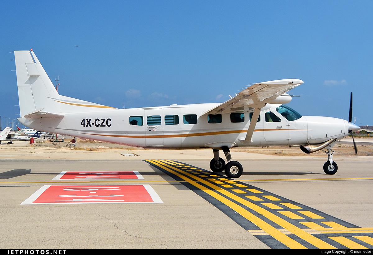 4X-CZC - Cessna 208B Grand Caravan - Private