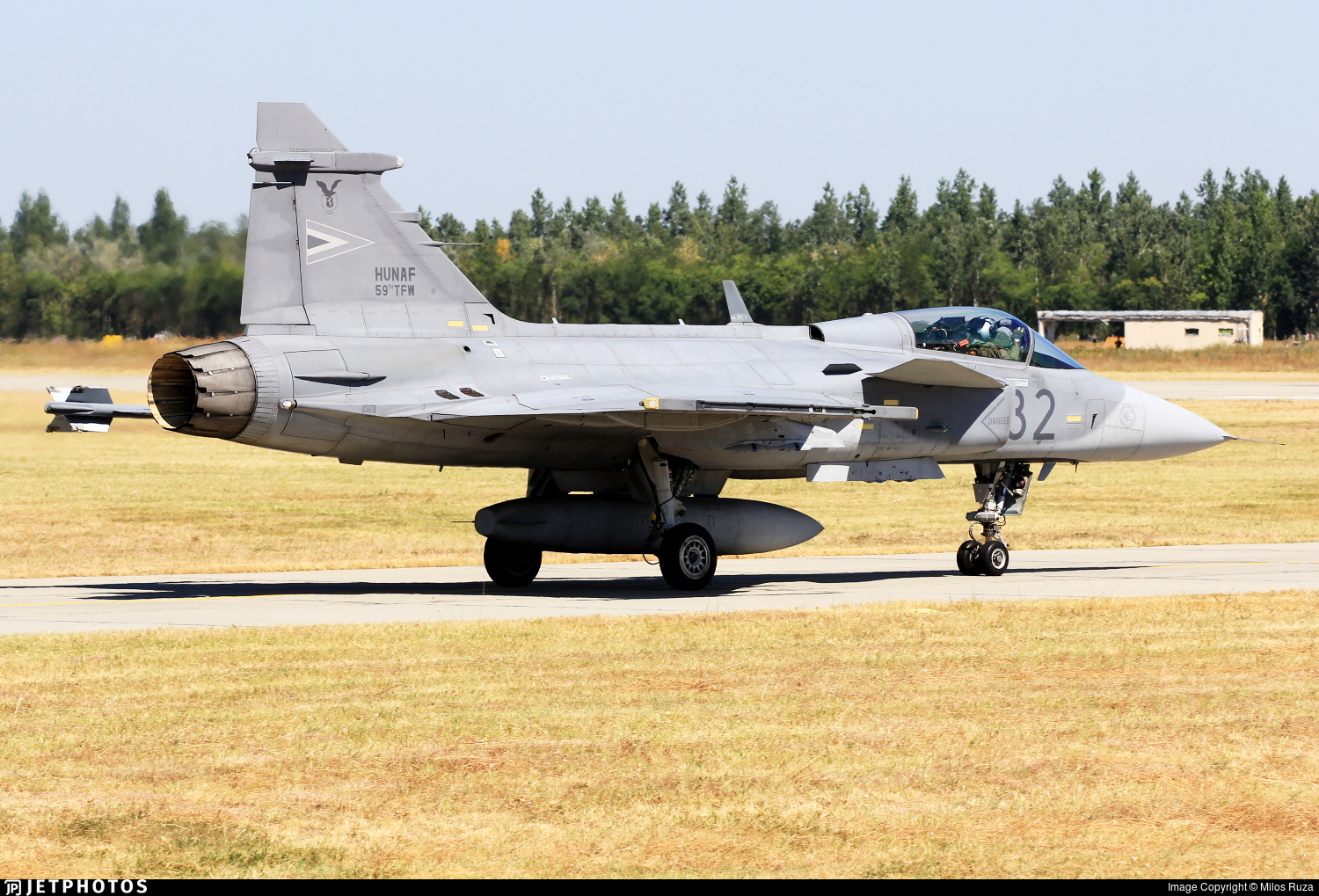 32 - Saab JAS-39C Gripen - Hungary - Air Force
