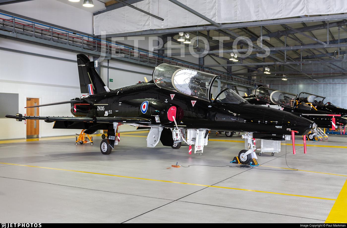 ZK015 - British Aerospace Hawk T.2 - United Kingdom - Royal Air Force (RAF)