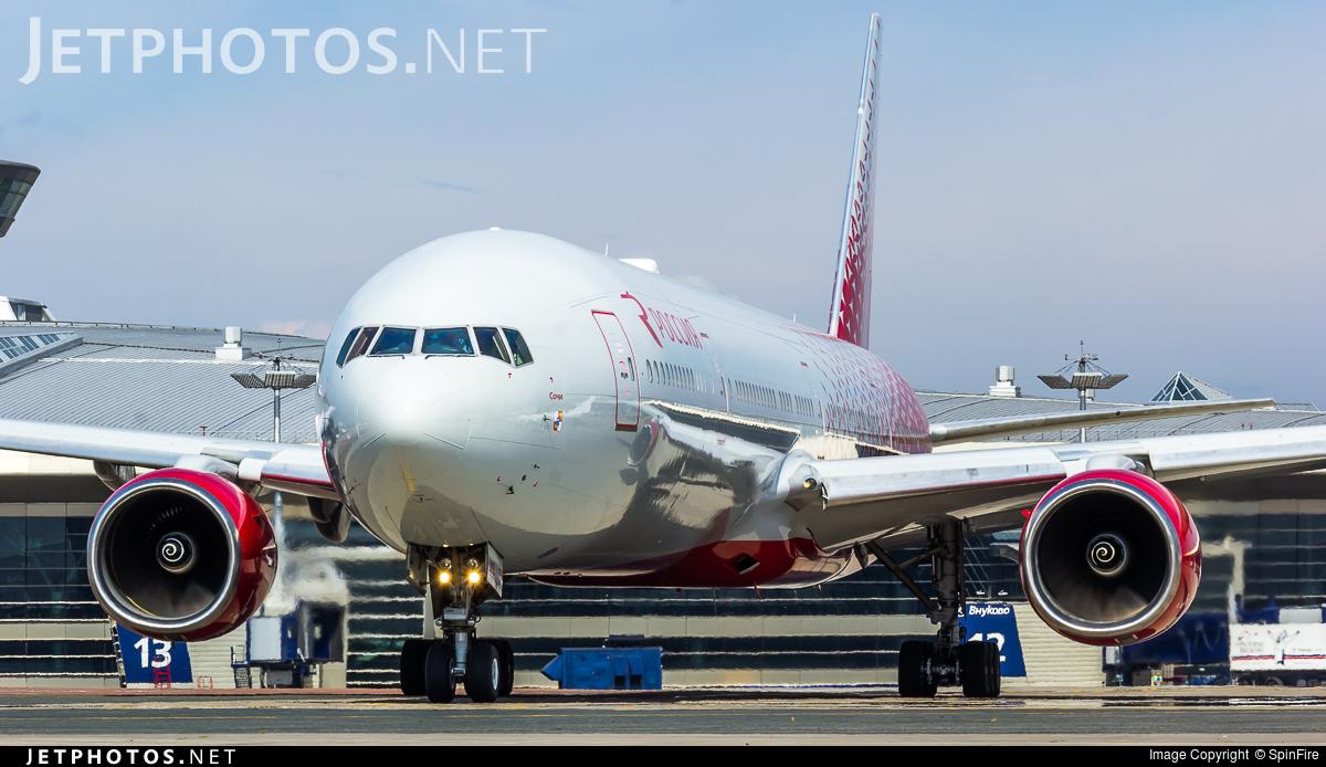 EI-UNL - Boeing 777-312 - Rossiya Airlines