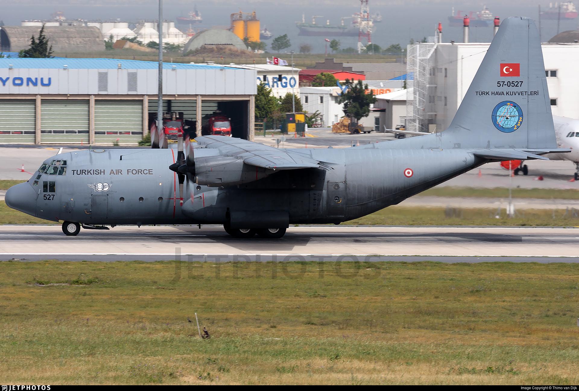 57-0527 - Lockheed C-130B Hercules - Turkey - Air Force